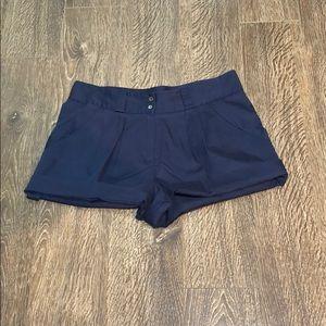 DVF Navy Shorts